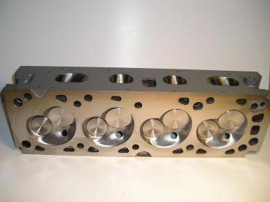 Stage 3 Ported Cast Iron Head- Valves and Springs