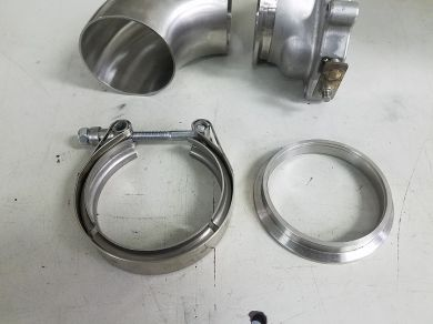 3inch V Band weld flange and clamp